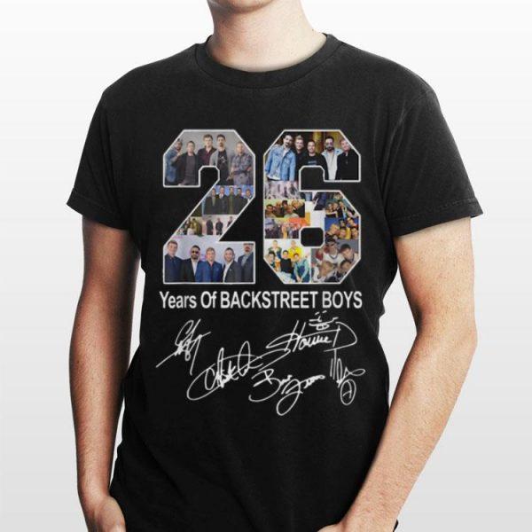 26 Years Of Backstreet Boys Signature shirt