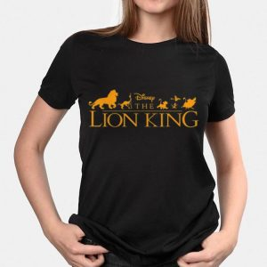 Disney The Lion King Official Movie Logo shirt 1