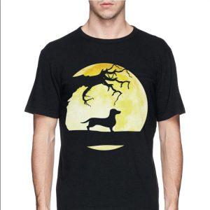 Scary Dachshund Halloween shirt 2