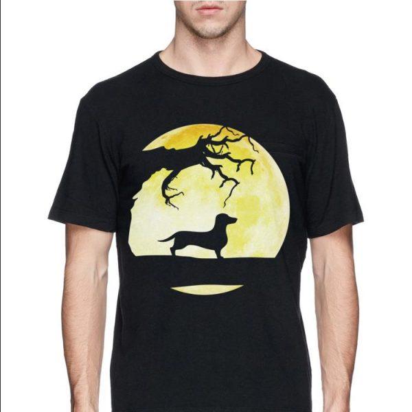 Scary Dachshund Halloween shirt