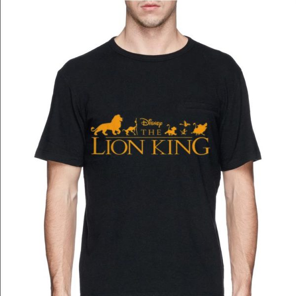 Disney The Lion King Official Movie Logo shirt