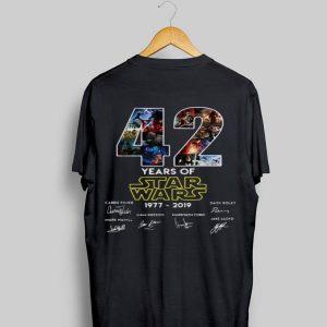 42 Years Of Star Wars Signature shirt