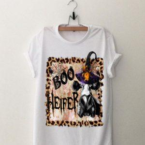 Boo Heifer Witch Halloween shirt