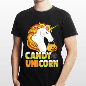 Candy Pumpkin Unicorn Halloween shirt