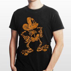 Disney Mickey Mouse Halloween Skeleton shirt