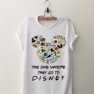 Disney Mickey The One Where they Go To shirt