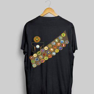 Disney Pixar Up Russell Patches Halloween shirt