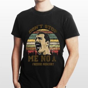 Don't Stop Me Now Freddie Mercury Signature shirt