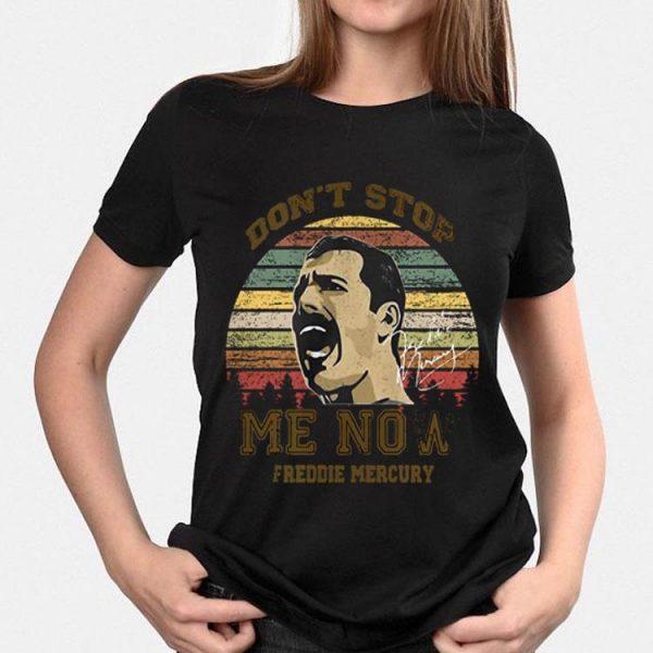 Don't Stop Me Now Freddie Mercury Signature shirt