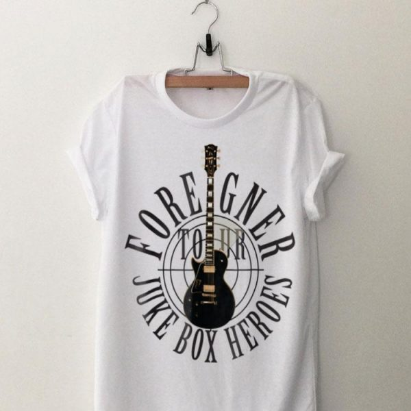 Foreigner Juke Box Heroes Electric Guitar shirt