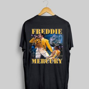 Freddie Mercury Live Homage Champion Signature shirt
