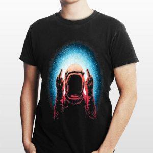 Fuck The World Astronaut Spaceman shirt