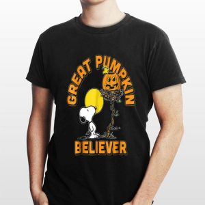 Great Pumpkin Believer Snoopy Halloween shirt