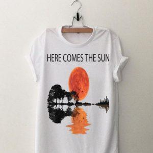 Here Comes The Sun Guitar Lake shirt