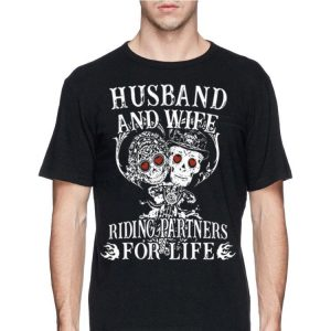 Husband And Wife Riding Partners For Life shirt