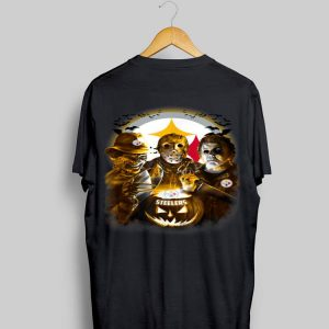 Jason Michael Myers Freddy Krueger Pittsburgh Steelers shirt