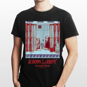 Netflix Stranger Things Scoops Ahoy Ice Cream Parlor shirt