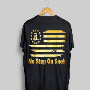 No Step On Snek Snake Gadsden Betsy Ross Flag shirt
