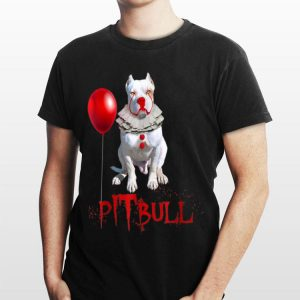 Pennywise Pitbull IT Clown For Halloween shirt