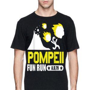 Pompeii Fun Run AD79 shirt