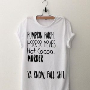 Pumpkin Patch Watch Horror Movie Halloween shirt
