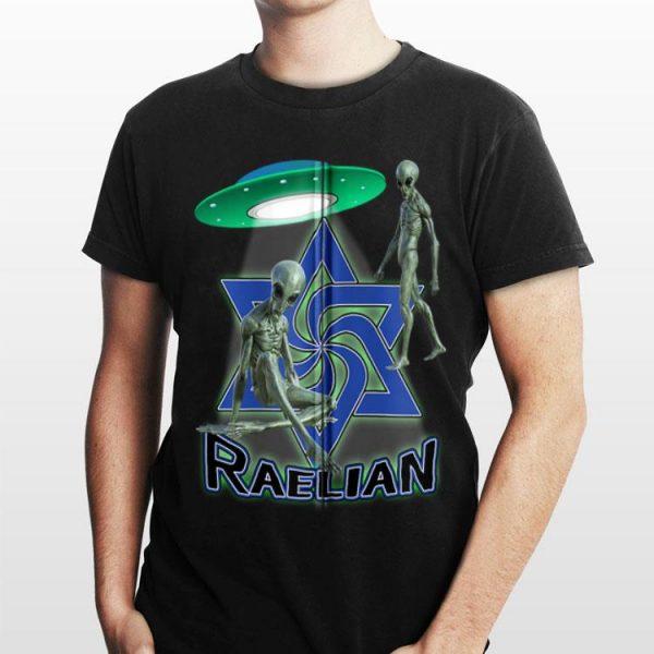 Raelian Ufo Alien Religion shirt