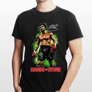 Roberto Duran Hand Of Stone Signature shirt