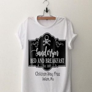 Sanderson Bed And Breakfast Children Stay Free shirt