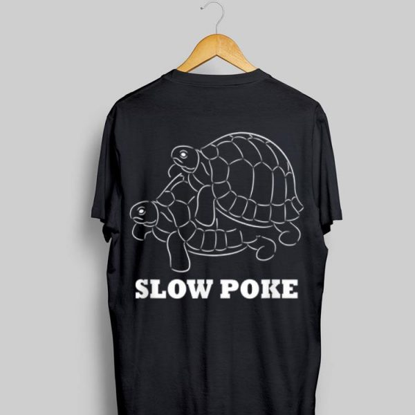 Slow Poke turtle shirt