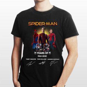 Spider Man 58 Years Anniversary 1962-2020 Signature shirt