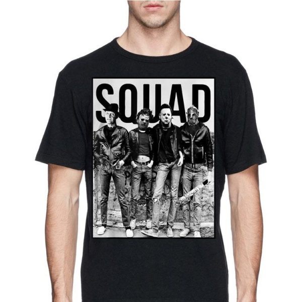 Squad Halloween Horror Movie shirt
