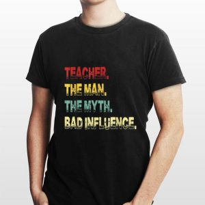 Teacher The Man The Myth The Legend Vintage shirt