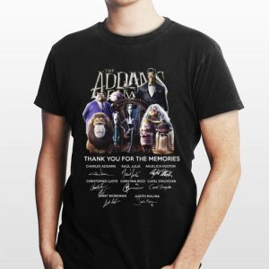 The Addams Family Thank You For The Memories Signature shirt