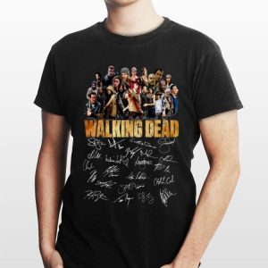 The Walking Dead Signature shirt