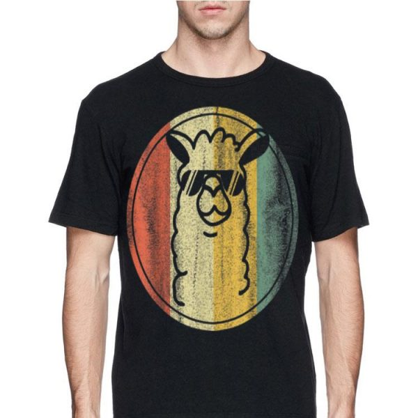 Vintage kein Prob Lama Alpaka shirt