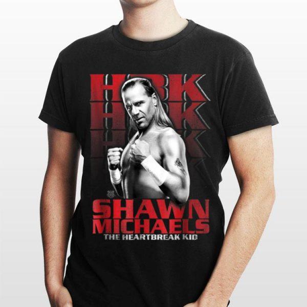 WWE Shawn Michaels The Heartbreak Kid HBK shirt
