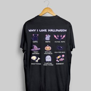 Why I Love Halloween Emoji Collection shirt