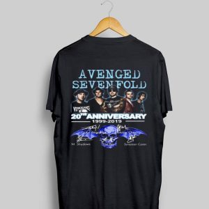 20th Anniversary 1999-2019 Signatures Avenged Sevenfold shirt
