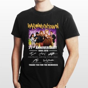 21th Anniversary 1998-2019 Halloweentown Signatures shirt