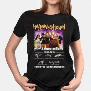 21th Anniversary 1998-2019 Halloweentown Signatures shirt