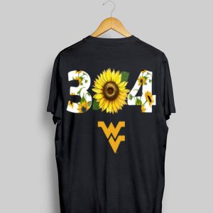 304 West Virginia Sunflower shirt