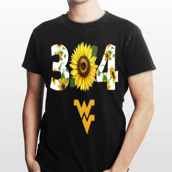 304 West Virginia Sunflower shirt