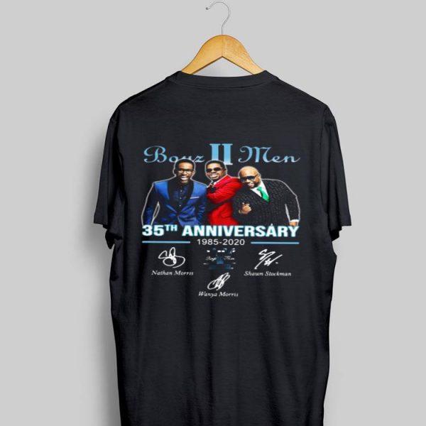 35th Anniversary 1985-2020 Signatures Boyz II Men shirt