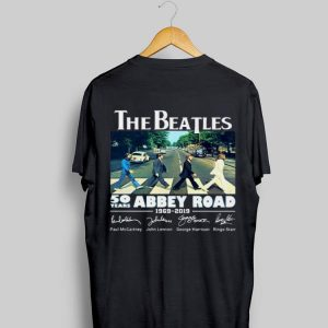 50 Years Abbey Road The Beatles 1969-2019 Signature shirt