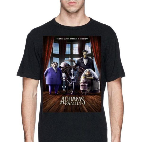 Addams Family Group Shot Portrait Movie shirt