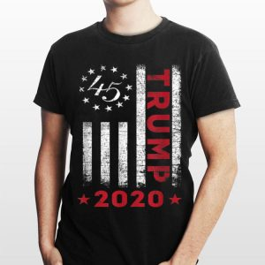 American Flag Trump 2020 shirt