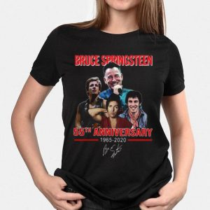 Bruce Springsteen 55th Anniversary 1965-2020 Signature shirt