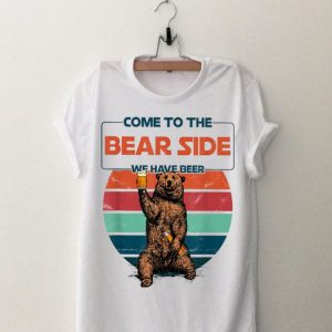 Come To The Bear Side We Have Beer Vintage shirt