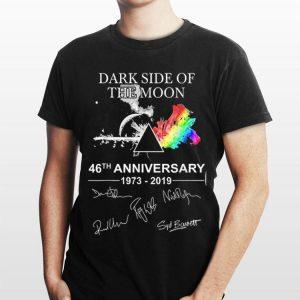 Dark Side Of The Moon 46th Anniversary 1973 2019 Signature shirt