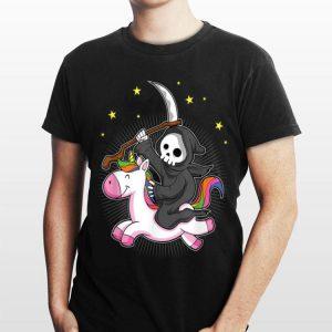 Death Metal Rainbow Riding Unicorn shirt